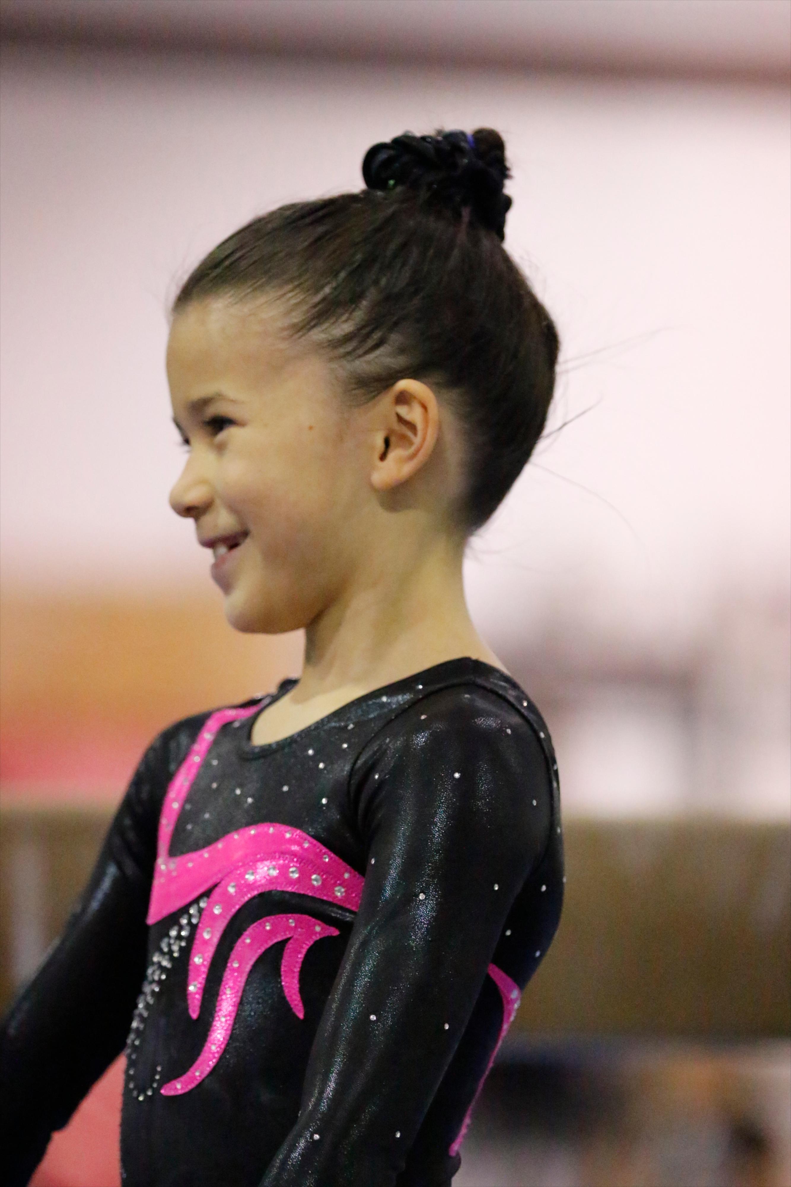 Grace Lim, level 3 gymnastics